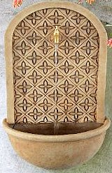 Tapestry Fiberglass Wall Fountain
