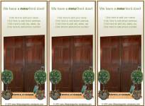 New Front Door Welcome - Free Printable Address Change Cards